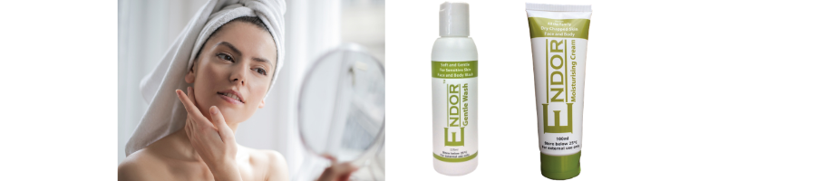 ENDOR Gentle Wash and Moisturising cream for Soft Supple Skin